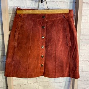 💝 3/$75 Urban Outfitters Cooperative Suede Skirt